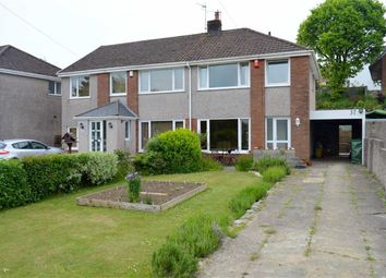 Thumbnail 3 bed semi-detached house for sale in Ridgeway, Killay, Swansea