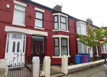 Thumbnail 4 bedroom terraced house to rent in Craigs Road, Old Swan, Liverpool