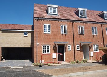 Thumbnail 3 bed town house to rent in Fairway, Norwich