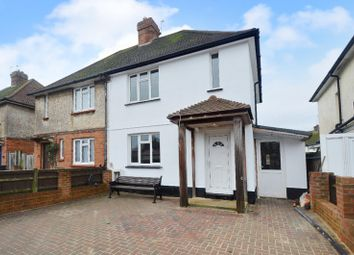 Thumbnail 2 bed semi-detached house for sale in Ecmod Road, Eastbourne