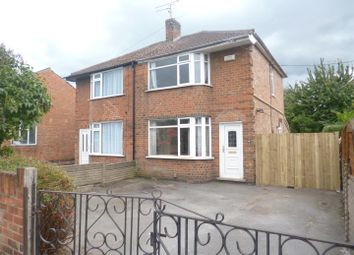 Thumbnail 3 bed semi-detached house for sale in Belton Road, Loughborough