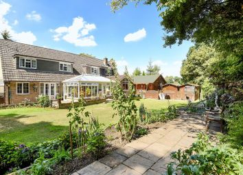 Thumbnail 8 bed detached house for sale in Aldermaston Road, Monk Sherborne, Tadley
