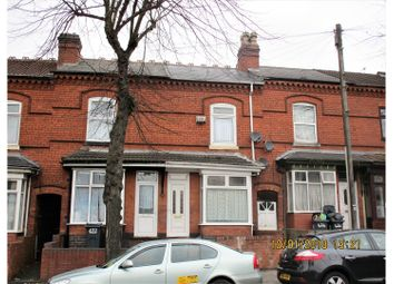 Thumbnail 3 bed terraced house for sale in Bordesley Green, Birmingham