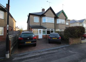 Thumbnail 3 bedroom semi-detached house for sale in Regents Park Road, Southampton