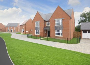 "Thumbnail 5 bed detached house for sale in ""Evesham"" at Station Road, Langford, Biggleswade"