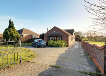 Thumbnail 4 bed detached bungalow for sale in Common Road, Wressle, Brigg