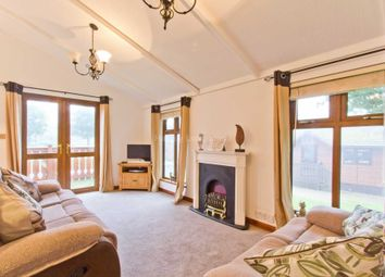 Thumbnail 2 bed lodge for sale in Swarland, Morpeth