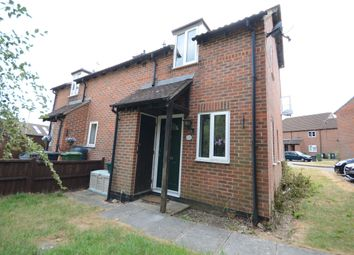 Thumbnail 1 bed end terrace house to rent in Rosehip Way, Lychpit, Basingstoke