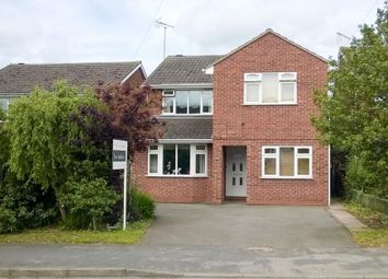 Thumbnail 4 bed detached house for sale in Lewis Road, Radford Semele, Leamington Spa