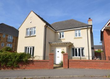 Thumbnail 4 bed detached house for sale in Berrywood Drive, St Crispins, Northampton