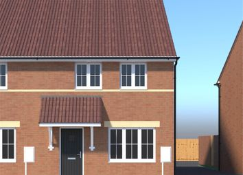 Thumbnail 3 bedroom terraced house for sale in Plot 66 Stratton Gate, Swindon, Wiltshire