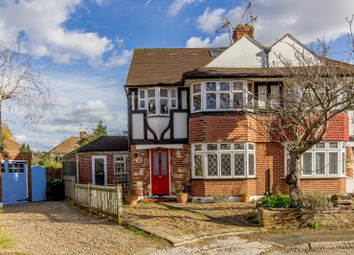 Thumbnail 5 bedroom semi-detached house for sale in Garth Close, Kingston Upon Thames