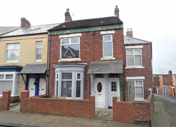 Thumbnail 3 bed flat for sale in Marlborough Street North, South Shields