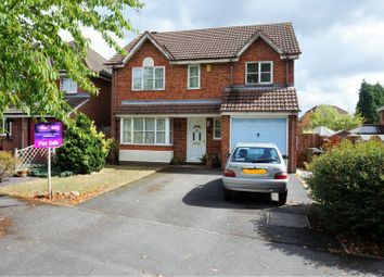 Thumbnail 4 bed detached house for sale in Swan Way, Coalville