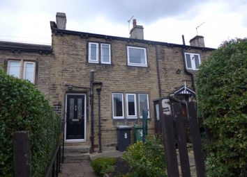 Thumbnail 2 bed terraced house for sale in Kirby Row, Kirkheaton, West Yorkshire