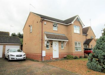 Thumbnail 3 bed detached house for sale in Wallace Close, King's Lynn
