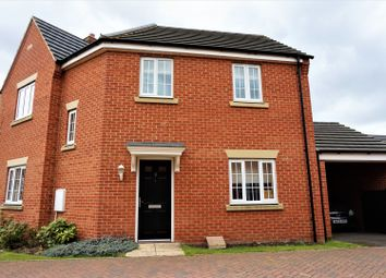 Thumbnail 3 bed detached house to rent in Juno Way, Peterborough