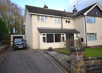 Thumbnail 4 bed semi-detached house for sale in The Villas, West End, Stoke-On-Trent