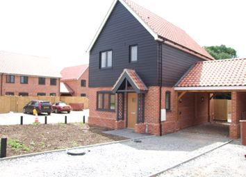 Thumbnail 3 bed link-detached house for sale in Bickers Hill, Laxfield, Woodbridge