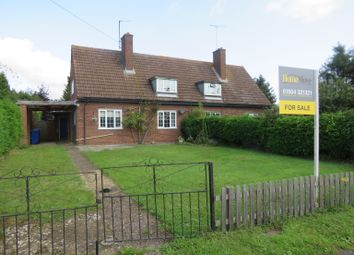 Thumbnail 3 bed semi-detached house for sale in Chase Park Road, Yardley Hastings, Northampton