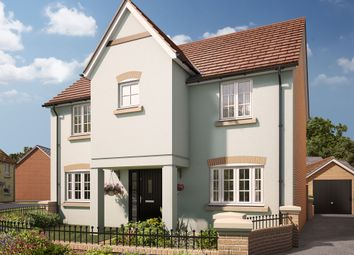 "Thumbnail 4 bed detached house for sale in ""The Northleigh"" at Swallow Field, Roundswell, Barnstaple"