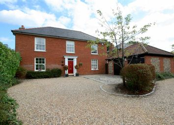 Thumbnail 5 bed detached house for sale in High Street, Stetchworth, Newmarket