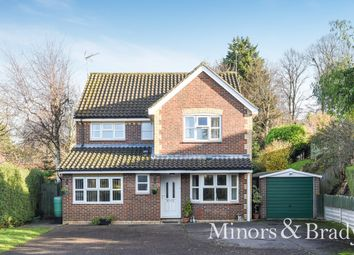 Thumbnail 4 bed detached house for sale in Husenbeth Close, Costessey, Norwich