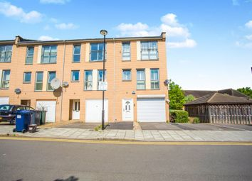 Thumbnail 3 bed town house for sale in Fortune Avenue, Burnt Oak, Edgware
