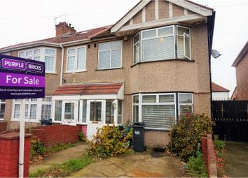Thumbnail 3 bed end terrace house for sale in Vincent Road, Hounslow