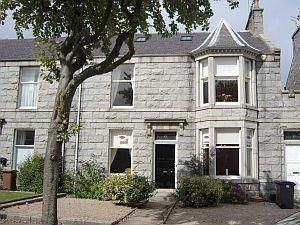 Thumbnail 3 bed flat to rent in Desswood Place, Aberdeen City