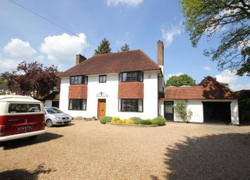 Thumbnail 4 bed detached house to rent in Hollybank Road, Pyrford, Woking