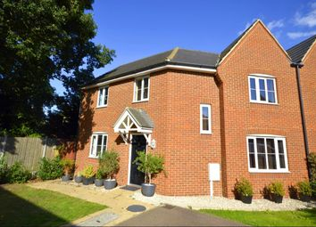 Thumbnail 3 bed semi-detached house for sale in Searchlight Heights, Chattenden, Rochester