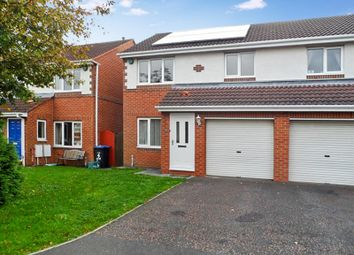 Thumbnail 3 bedroom semi-detached house for sale in St. Marys Drive, West Rainton, Houghton Le Spring