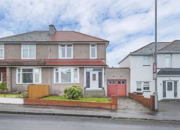 Thumbnail 3 bed semi-detached house for sale in 134 Kingspark Avenue, Kings Park, Glasgow