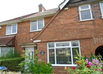 Thumbnail 3 bed terraced house for sale in Wash Lane, Yardley, Birmingham