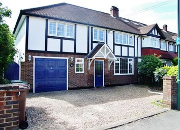 Thumbnail 4 bedroom end terrace house to rent in Culvers Avenue, Carshalton, Surrey