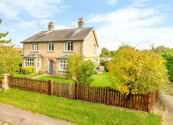 Thumbnail 5 bed detached house for sale in Church Lane, Stow Longa, Huntingdon