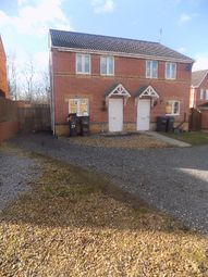Thumbnail 3 bed semi-detached house to rent in Celandine Way, Shildon, Co. Durham