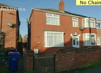 Thumbnail 3 bed semi-detached house for sale in Thoresby Avenue, Belle Vue, Doncaster.