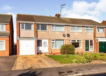 Thumbnail 5 bed semi-detached house for sale in Emsworth Drive, Eaglescliffe, Stockton-On-Tees