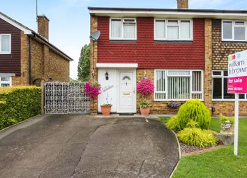 Thumbnail 3 bedroom semi-detached house for sale in Linnet Drive, Tile Kiln, Chelmsford