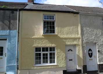 Thumbnail 2 bed terraced house to rent in Swansea Road, Trebanos, Pontardawe.