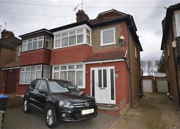 Thumbnail 4 bed semi-detached house for sale in Grasmere Avenue, Wembley