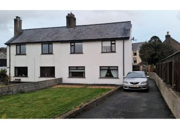 Thumbnail 3 bed semi-detached house for sale in Criccieth