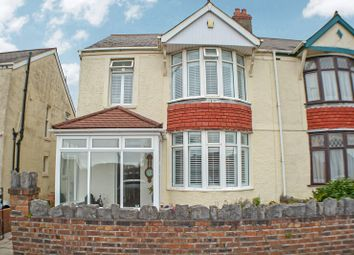 Thumbnail 3 bed semi-detached house for sale in Pentwyn Baglan Road, Baglan, Port Talbot, Neath Port Talbot.