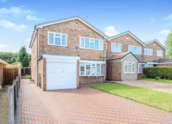 Thumbnail 5 bed detached house for sale in Leslie Close, Littleover, Derby