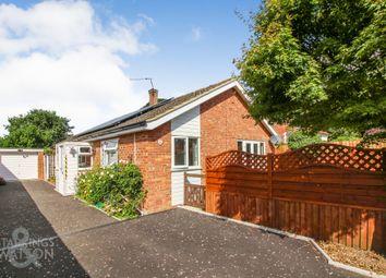 Thumbnail 3 bed detached bungalow for sale in Long Lane, Mulbarton, Norwich