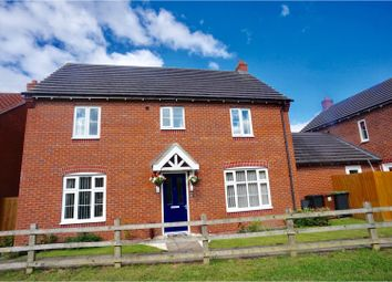 Thumbnail 4 bed detached house for sale in Leveret Chase, Lincoln