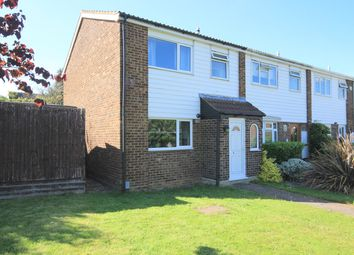 Thumbnail 3 bed end terrace house to rent in Woodcock Walk, Flitwick