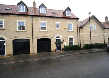 Thumbnail 4 bed town house for sale in Kipling Crescent, Stotfold, Hitchin